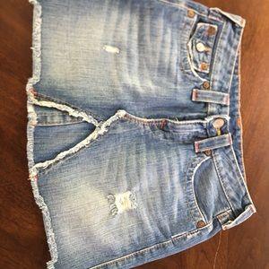 Jean mini skirt size 27